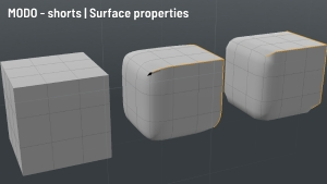 MODO - shorts | Surface Properties