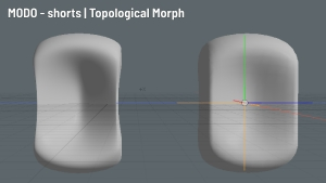 MODO - shorts | Topological Morph